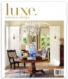 LUXE. INTERIORS + DESIGN JULY 2011